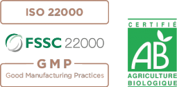Certifications iso 22000 - FSSC 22000 - Good Manufacturing Practices - Agriculture Biologique